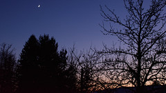 Moon and Venus (Michal Hajek) Tags: d5500 18140mm nikkor czphoto czechrepublic