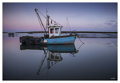 L1003951 (robert.french57) Tags: d45 barling boats blue sky lowlight sunset evening coast sea bob robert french 57 leica m 240
