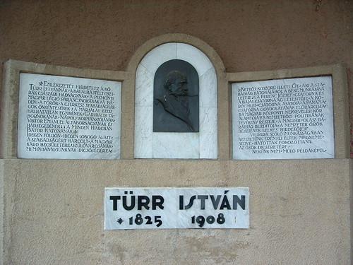 Baja, Türr István-emléktábla