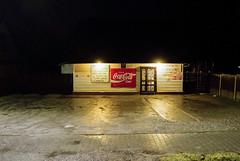 Droga nr 7 / Road 7 (Kama b) Tags: road poland roadside kielce skarżysko przystanek busstop bus sklep spożywczy shoop coca cola