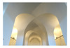 Vaulted (YIP2) Tags: arch arches vault building ceiling roof architecture scheveningen beeldenaanzee thehague line lines curves simple white whiteness elegant elegance interior