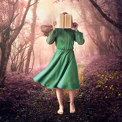 We Write our own Story (natashalh) Tags: fineartportrait fineartphotography selfportrait magical surreal forest fairytale