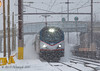Duck and Cover!!! (Darryl Rule's Photography) Tags: acs64 acela acelaexpress amtrak buckscounty citiessprinter eastbound january levittown necorridor neregional northeastcorridor northeastregional railroad railroads septa siemens snow train trains westbound winter