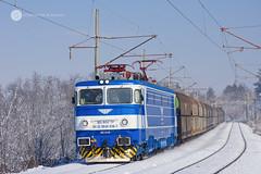Elena is back! (cossie*bossie) Tags: bdz class 46 036 46036 elena ea5100 reloc craiova bulgarian railways freight train pobit kamak bulgaria cargo