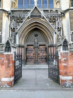 Church Door, Cambridge, UK
