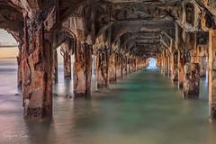 ~Under the Mala Pier~ (garretrays) Tags: water ocean maui pier old lahina waves pacificocean hawaii mala warf