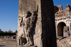 Gladiator Carving (silverfox_hwz) Tags: campania capua santamariacapuavetere amphitheatre anfiteatro ancientcapua gladiator gladiatormuseum