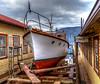Hi 'n Dri (Paul Rioux) Tags: marine waterfront port mooring drydock boat vessel repair cowichanbay bc vancouverisland shipyard boatyard outdoor prioux