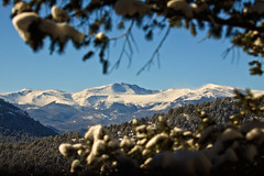 Mt. Evans from Evergreen after January snow (j.schmaltz) Tags: evergreen colorado mount evans mtevans fourteener mountains rockymountains jeffco