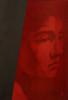 Stille (simone geraci) Tags: simonegeraci stille rot red rosso art artist contemporaryart kunst kunstler oil oilpainting lavagna ardesia portrait women