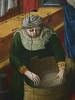 GIOVANNI FRANCESCO DA RIMINI (Attribué),1440-50 - Vie de la Vierge, La Naissance de la Vierge (Louvre) - Detail 30 (L'art au présent) Tags: art painter peintre details détail détails detalles painting paintings peinture peintures 15th 15e peinture15e 15thcenturypaintings 15thcentury detailsofpainting detailsofpaintings moyenâge middleage louvre museum paris france italie italy italia francesco giovannidarimini giovanni francescodarimini lanaissancedelavierge viedelavierge naissance birth birthday adoration worship bible saint bless sacred holy blessed figure personne people femme femmes woman man men virgin vierge enfant child enfance kid baby bébé childhood parents family famille toilette bath nourrice nurse nursemaid nanny offrande offering gift chambre bedroom
