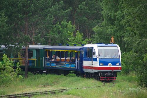 Irkutsk children railway TU2K-053 ©  trolleway