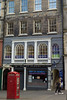 156-166 High Street, Edinburgh (David_Leicafan) Tags: 50mmsummiluxv2 edinburgh oldtown greatfire wroughtiron pilaster redphonebox tenement bayofbengal