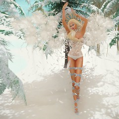 White angel (MISS SL ♛ Ireland 2016) Tags: fantasy angel second life