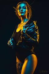 Janina (CeeTeeKoo) Tags: studio model color gels