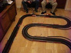 Scalextric - Winter 2017 Layout (Andy Reeve-Smith) Tags: audi a4 opel vectra scalextric slotcar slotcarracing slotcars gm generalmotors vag
