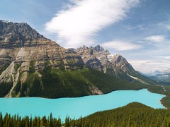Endless (Matt Champlin) Tags: park blue canada mountains topv111 landscape outdoors lakes national glaciers peytolake calendarshots japernationalpark keepexploring