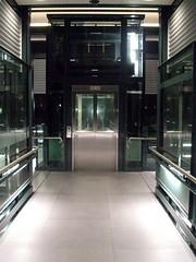 Night Elevator (dalziel_86) Tags: station night busway lift grove elevator brisbane kelvin kelvingrove qut