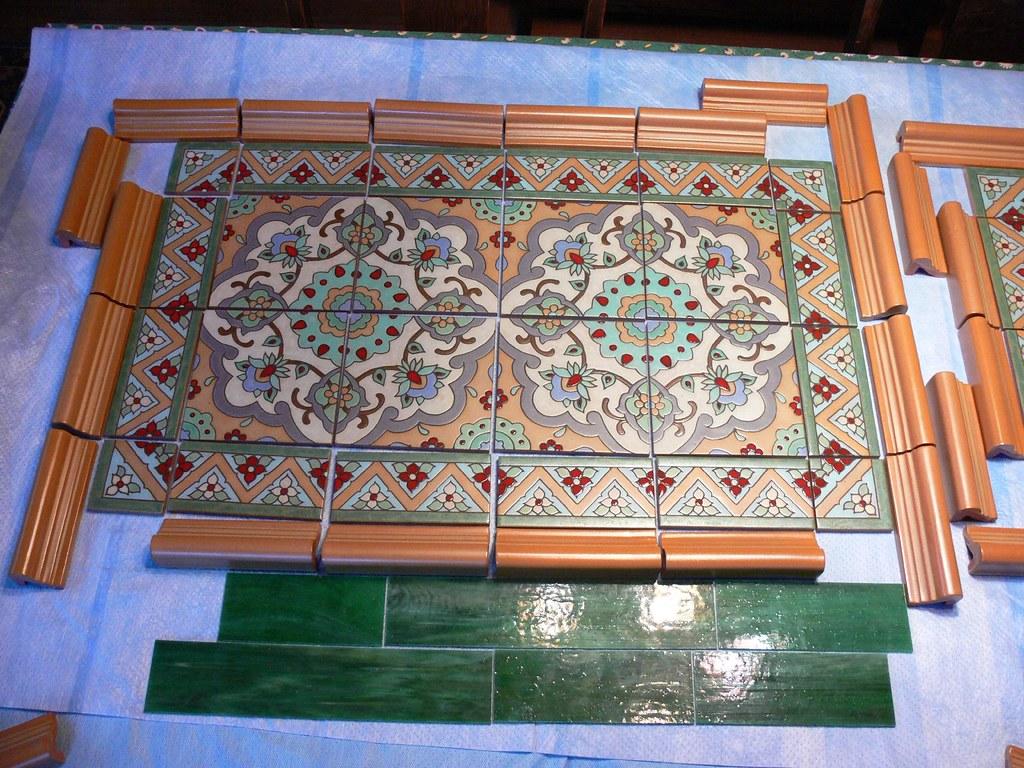 Tiles for part of the backsplash