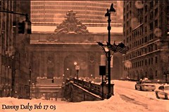Grand Central station NY 2003 (dannydalypix) Tags: new york city snow station flickr central snowstorm grand photograph danny daly winterlandscape dannydaly