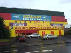 Main Stand Cliftonhill Stadium, Coatbridge (tcbuzz) Tags: scotland football stadium albion cliftonhill rovers coatbridge