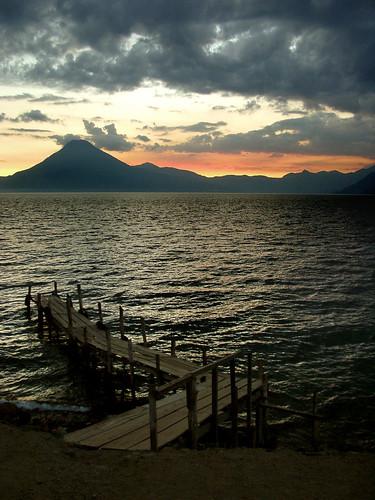 Shoebox - Sunset at Lake Atitlan