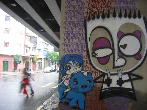 São Paulo- rua Amaral Gurgel -Graffiti 003