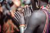 Surma: aholay dance #4 (foto_morgana) Tags: ethiopia surma tribes portraits hands dance kibish africa ethnic