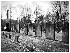 Cemetery, East Durham, NY - by Catskills Grrl