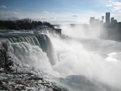 American Falls (sheilaellen) Tags: winter snow ice geotagged niagarafalls waterfall niagara northamerica americanfalls moo:minicards=137393 dopplr:explore=b1f1