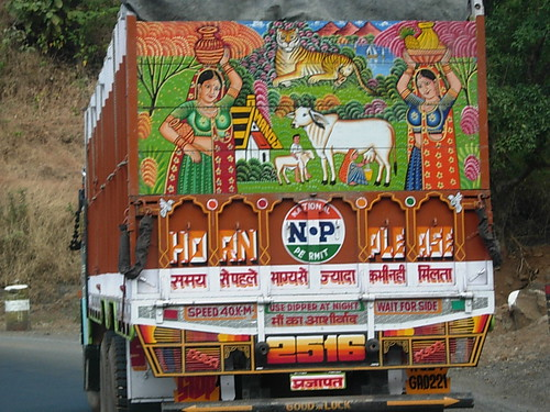 Indian Truck: Horn Ok Please