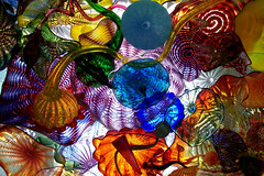 Chihuly Glass (lawatha) Tags: chihuly glass colors wa tacoma glassmuseum