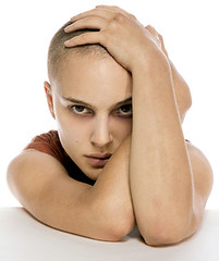 gorgeous bald-headed Natalie
