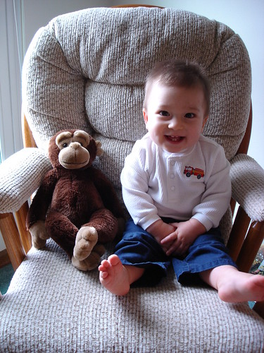 Mason, 1 year old!