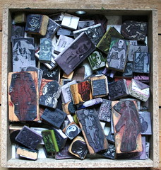 Rubber stamp drawer (ART NAHPRO) Tags: art carved eraser nahpro rubber stamp