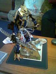 Brutaka with an I-pod (kiml42) Tags: ipod lego bionicle