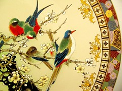 (imedagoze) Tags: flowers nature birds colorful branch pattern chinese plate prints colourful dishes chinoiserie
