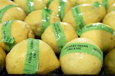 Organic Lemons, Walmart