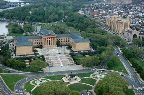 philadelphia museum and new perelman building