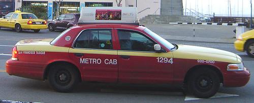Flickriver: Photoset 'San Francisco Taxis' by JaBB
