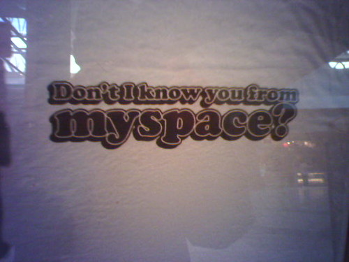 MySpace t-shirts