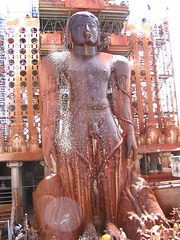Shravanabelagola (Uday_()) Tags: india karnataka jain bahubali shravanabelagola anointing mastakabhisheka