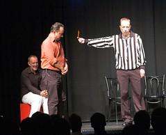 Rote Karte für Frank: In der nächsten Szene nur Gegenstände spielen!