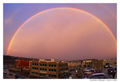 Rainbow over Southside Works