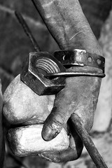 hand of a shepherd (adritzz) Tags: africa travel portrait bw man hand desert deleteme10 tribal aid nomads 86points mireasrealm analiza4549 ak10
