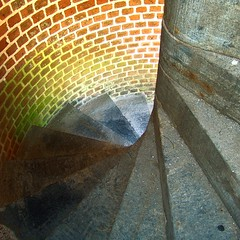 spiral downward. (D.James | Darren J. Ryan) Tags: atlanta urban copyright usa darren architecture georgia photography james j photo blog war photographer fort ryan d stock architectural confederate civil civilwar technorati savannah djames allrightsreserved pulaski fortpulaski wii darrenryan wwwdarrenjryancom wwwstudiobydjamescom darrenjryan wwwdarrenryanphotographycom