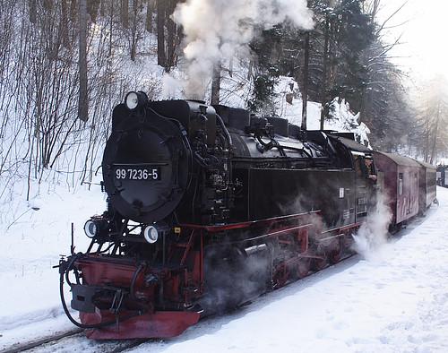Brocken Bahn / Train up to the Brocken