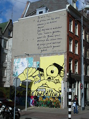 Art or Graffiti? (graney) Tags: streetart amsterdam graffiti amsterdamcentrum