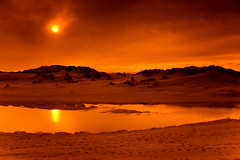 Reign of Fire (| HD |) Tags: desktop windows light wallpaper orange sun 20d nature oregon canon landscape fire coast sand photoshoot desert pacific northwest atmosphere burning burn microsoft vista hd drama darwish hamad reign specland