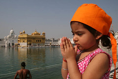 Sukhmani - our daughter Praying at Golden Temple, India (Captain Suresh Sharma) Tags: travel family baby india holiday girl religious child prayer religion daughter young sikh punjab devotee goldentemple punjabi saffron singh headgear medidation panjab devoutee captsureshsharma indianprayer sukhmanisharma prayingwithfoldedhands holycityofamritsar devoteeatgoldentemple sangatatgoldentemple indianstyleofprayer mostreveredplaceintheworld sikhbabyprayingatgoldentemple sikhgirlbabyprayingatgoldentemple headgearofsikhs saffronheadgearofsikhs indianchildparying indianchildpraying mostrevredplaceinpunjab